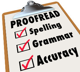 Proofreading Checklist (French Essay Writing)