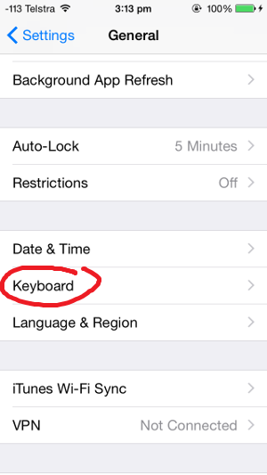 how to type french accents on iphone 03