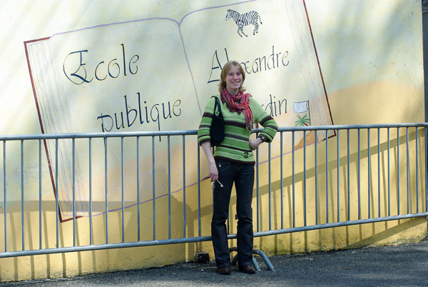 School Teacher in Rural France