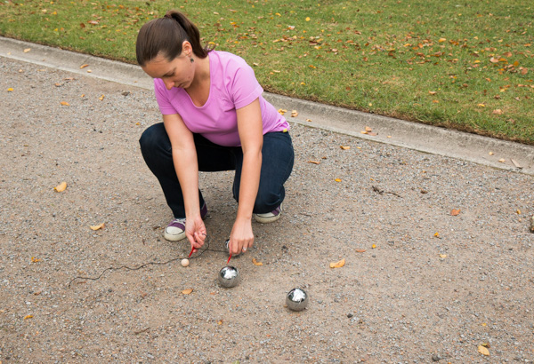 rules of petanque - measuring