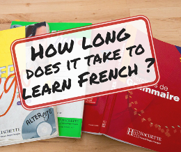"""How long does it take to learn French?"""