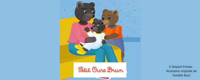 "FV 022 : Marie Aubinais, the Author of ""Petit Ours Brun"" stories for French Children"