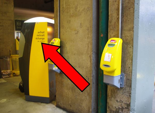 How to take the train in France -  transactions