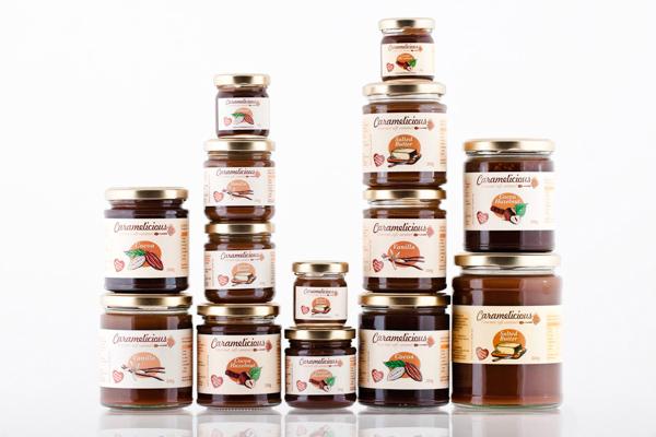 caramelicious-product-range