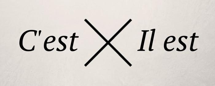 « C'est » vs « il est » / « elle est »