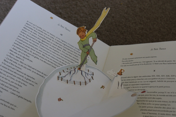 Le Petit Prince: my pop-up book