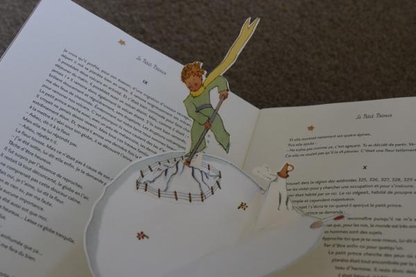 Le Petit Prince: my pop-up book