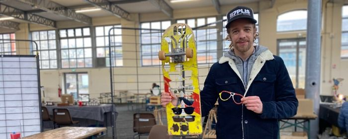 FV 109 INTERVIEW: 7Plis – recycling skateboards into glasses…and more!